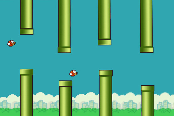 Flappy Bird Center