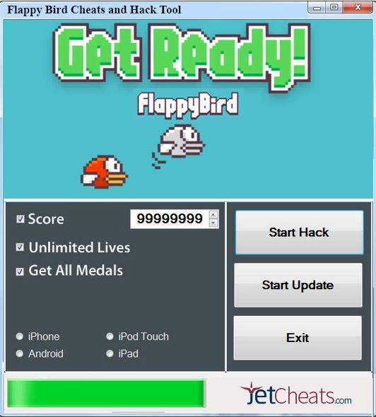 Flappy Bird Cheats