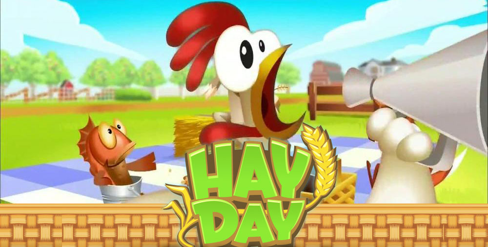 Hay Day Footer
