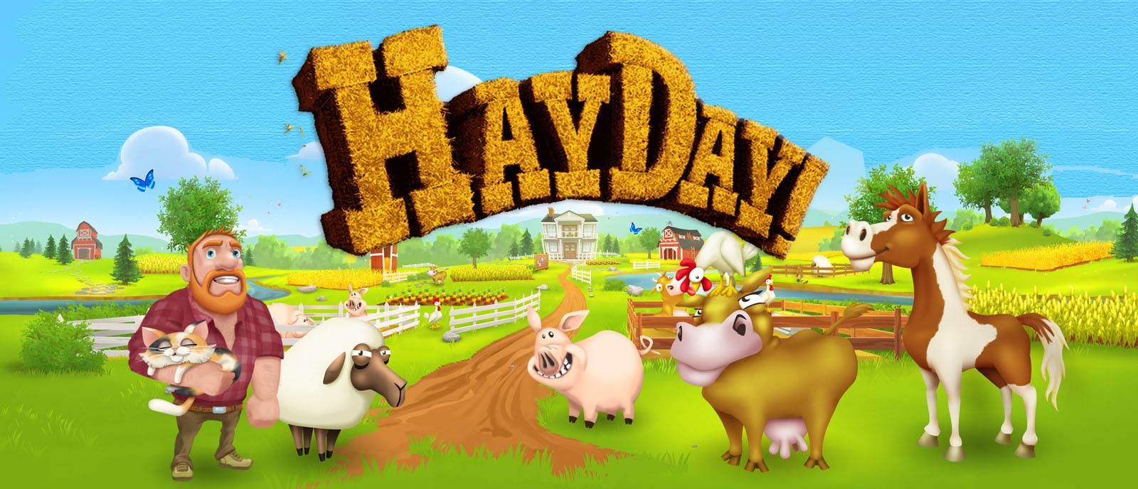 Hay Day Header
