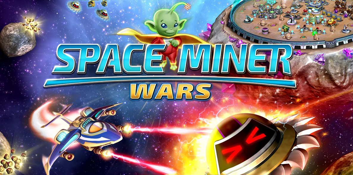 Space Miner Wars Header