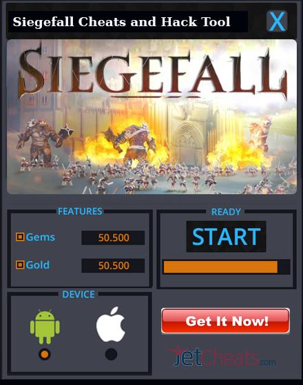 Siegefall Cheats