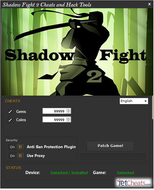 shadow fight 2 hack cheat