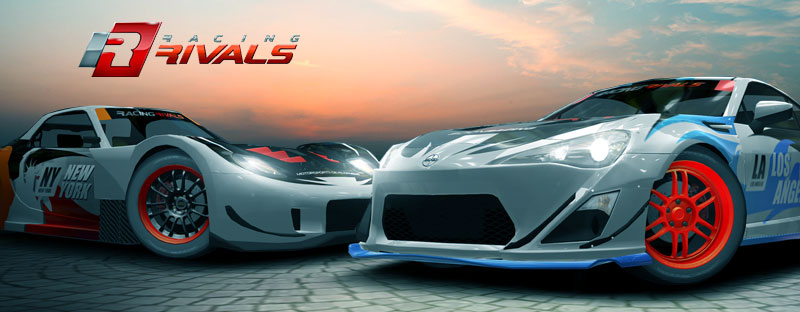 Racing Rivals Cheats Header