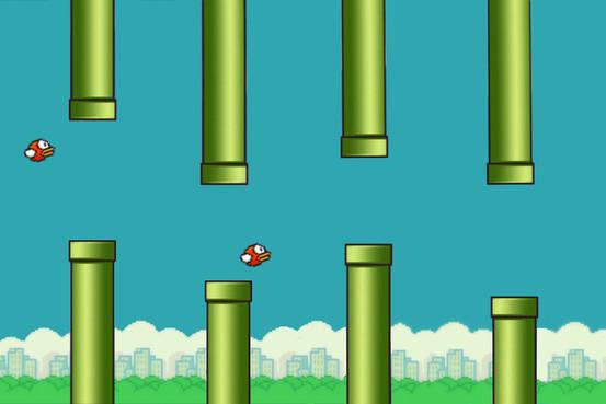 Flappy Bird Center