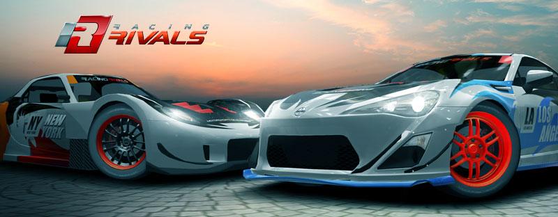 Racing Rivals Cheats Header